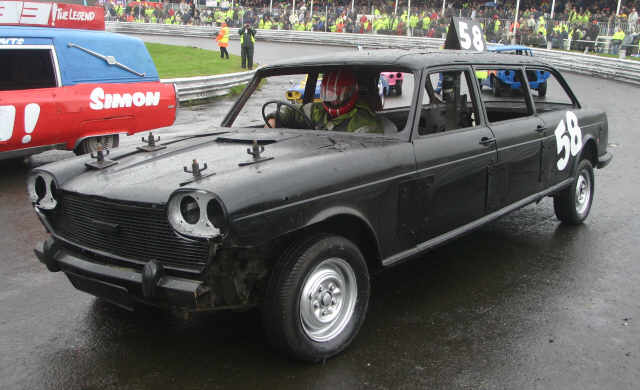 Banger racing austin 3 litres for Classic house bangers